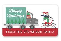 Christmas Pick Me Up Custom Stickers