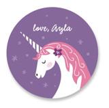 Magical Valentine Custom Stickers