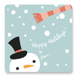Snowy Snowman by Sheila Sunaryo