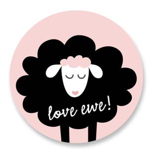 Love Ewe! Custom Stickers