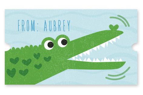 Snappy Alligator Custom Stickers