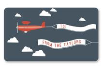 In Flight Custom Stickers