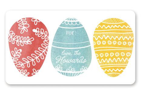 Painted Eggs Custom Stickers