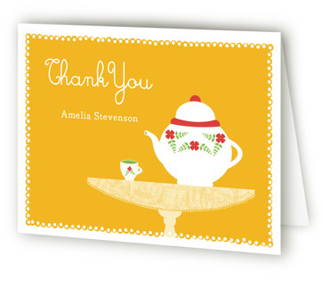 Kaleidoscope Children's Birthday Party Thank You Cards