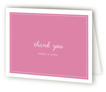 Stripey One Year Old Children's Birthday Party Thank You Cards