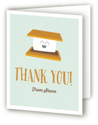 S'More Fun Children's Birthday Party Thank You Cards