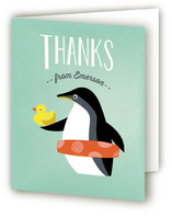 Penguin Splash by Griffinbell Paper Co.
