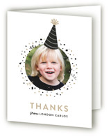 Party Hat Children's Birthday Party Thank You Cards