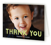 Billboard Childrens Birthday Party Thank You Cards