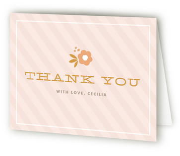 Cecilia Children's Birthday Party Thank You Cards