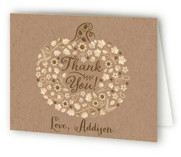 Little Pumpkin Childrens Birthday Party Thank You Cards