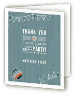 Circus Seal Childrens Birthday Party Thank You Cards
