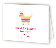 Piata Surprise Childrens Birthday Party Thank You Cards