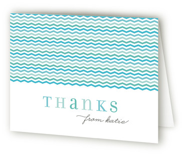 Pinwheel Children's Birthday Party Thank You Cards