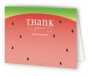 Watermelon Children's Birthday Party Thank You Cards
