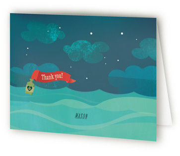 pARRRty! Children's Birthday Party Thank You Cards