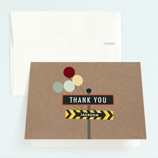 Krafting a Party Childrens Birthday Party Thank You Cards