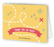 Treasure Hunt Party Childrens Birthday Party Thank You Cards