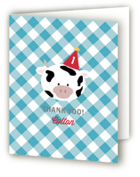 Barnyard Crew Children's Birthday Party Thank You Cards