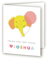 Safari Party Animals Childrens Birthday Party Thank You Cards