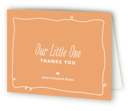 Little One Childrens Birthday Party Thank You Cards