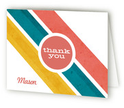 Road Rally Birthday Childrens Birthday Party Thank You Cards