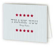 Yeehaw Childrens Birthday Party Thank You Cards