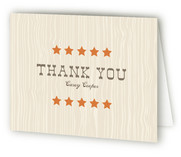 Yeehaw Children's Birthday Party Thank You Cards