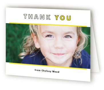 Unfourgettable Children's Birthday Party Thank You Cards