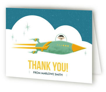 Little Explorer Children's Birthday Party Thank You Cards