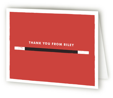 Poof: Birthday Magic Children's Birthday Party Thank You Cards