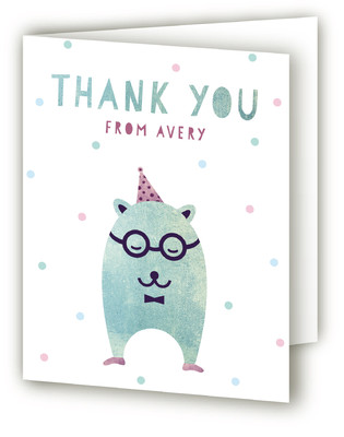 Munchkin Children's Birthday Party Thank You Cards
