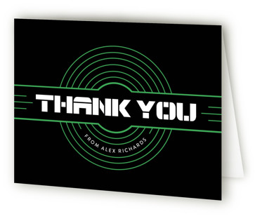 Targeted Children's Birthday Party Thank You Cards