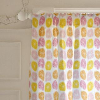Summery Citrus Curtains