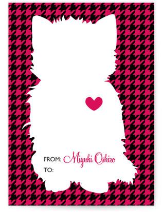 Mod Cat Classroom Valentine's Day Cards
