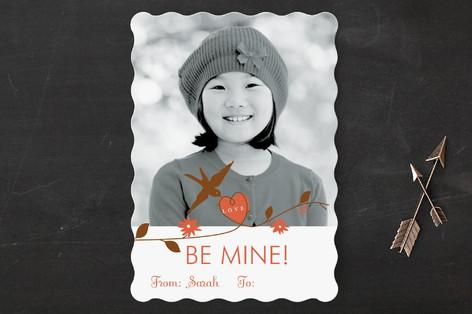 little birdie Classroom Valentine's Cards
