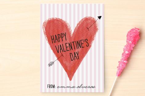 Heart and Arrow Classroom Valentine's Cards