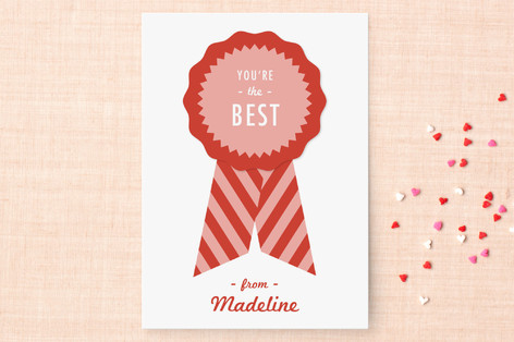 You're the Best Classroom Valentine's Cards