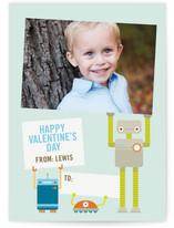 Robot Friends Classroom Valentine's Cards