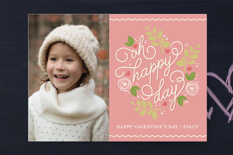 Happy Botanicals Classroom Valentine's Cards