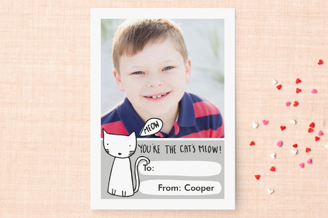Cat's Meow Classroom Valentine's Cards