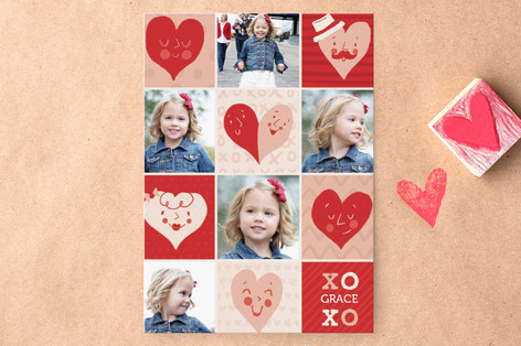 Happy Hearts Classroom Valentine's Cards