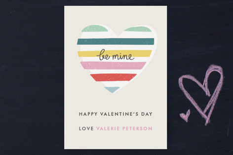 Layered Heart Classroom Valentine's Cards