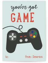 Video Gamer Classroom Valentine's Cards