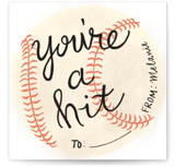 You're a Hit Valentine by Dainty Lines