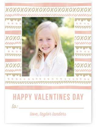 Borders Classroom Valentine's Day Cards