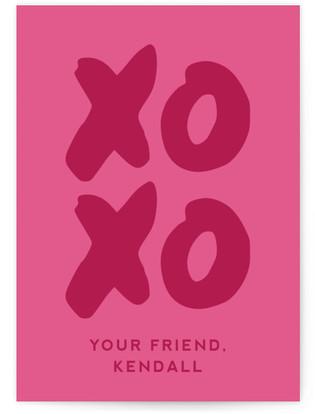 Shiny Love Classroom Valentine's Day Cards