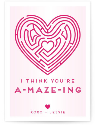 You're A-Maze-Ing Classroom Valentine's Day Cards