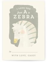 Valentine Zoo Zebra