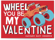 Valentine Wheel Classroom Valentine's Day Cards